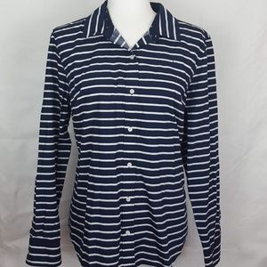 Nautica Stars & Stripes Button Down Shirt XL